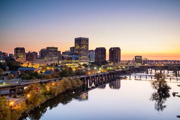 Downtown Richmond, Virginia skyline