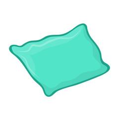 pillow isolated illustration