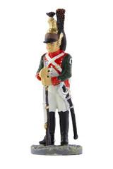 Сержант 25-го драгунского полка в походной форме, 1810 год