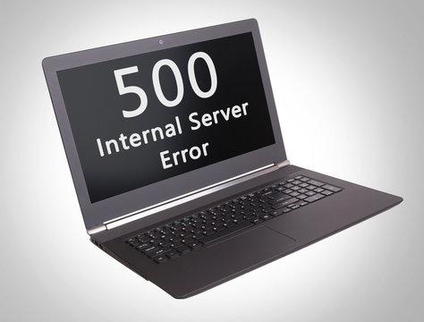 HTTP Status code - 500, Internal Server Error
