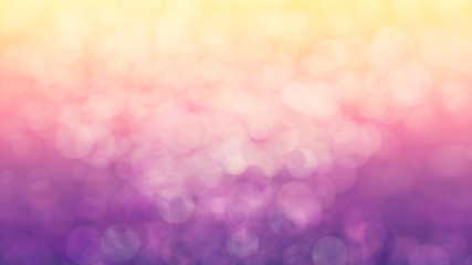 Fotobehang - pink blur with yellow light