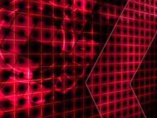 Fotobehang - dot light