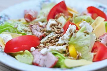 Zdrowa sałatka dietetyczna fit