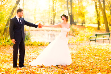 love autumn wedding