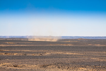 Africa, Morocco -view of  Sahara Desert