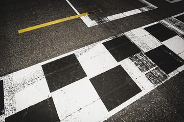 Start- und Ziellinie