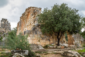 Montfort Castle in Upper Galilee, Israel