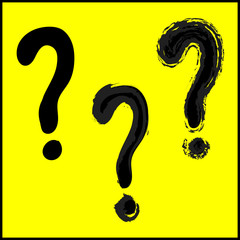 Question mark sign Vector EPS10, Great for any use.