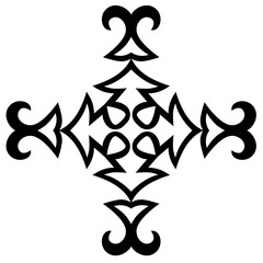 Tattoo. Stencil. Pattern. Design. Ornament.