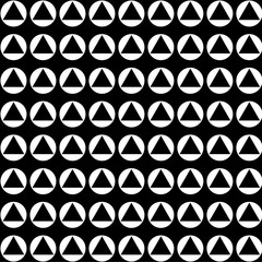 Triangle in circle Background Vector EPS10, Great for any use.