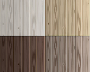 Wood texture vector background panels with grain. Set of wood light and dark boards. Floor collection in gray colour. Wood pattern similar to pine.