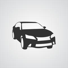 Car icon . car icon vector silhouettes