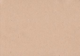 Paper texture - light brown paper sheet.