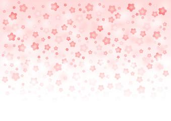 桜 イラスト 背景 素材 グラデーション