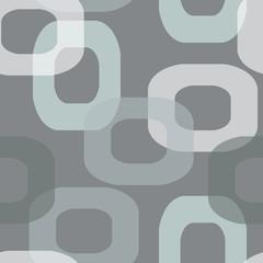 Seamless retro donut grey pattern