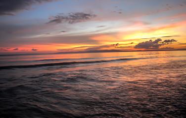 A pleasent sunset