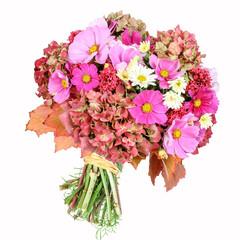 Blumenstrauß mit Cosmea und Hortensie