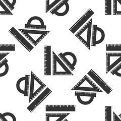 Straightedge icon pattern