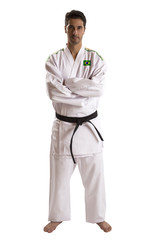 Judo fighter from Brazilian country.