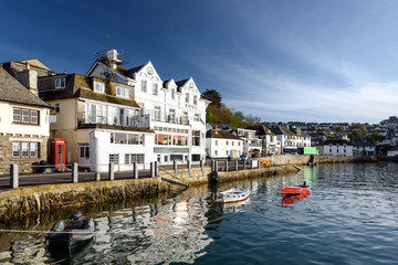 St Mawes village, Cornwall, England.