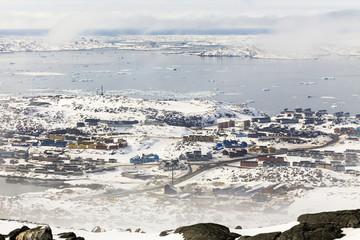 Colorfuk suburb of Nuuk