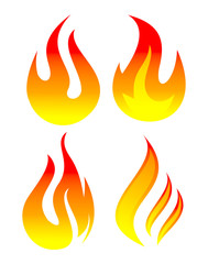 flame set logo