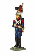 Сапёр Императорской гвардии в парадной форме. 1812 год