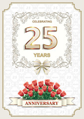 25 anniversary