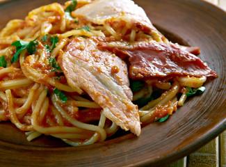 Spaghetti allamatriciana.