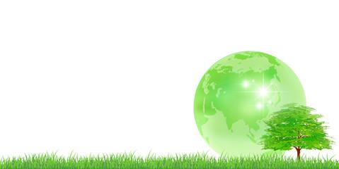 地球 木 新緑 背景