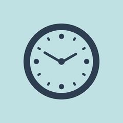 Icon of Clock. EPS-10.