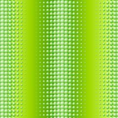 Scattered green balls background