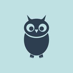 Icon of Owlet. EPS-10.