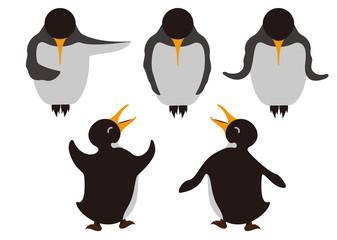 イラスト素材「ペンギン」