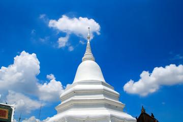 Thai Pagoda in the blue sky
