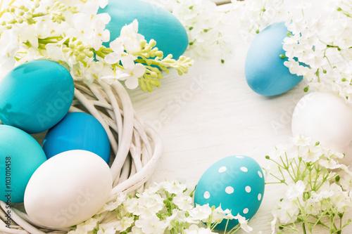 природа цветы яйца праздники яйца скачать