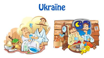 Ukraine vector illustration.