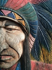 Vintage American Native Chief Head