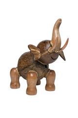 Elephant souvenir from a tree