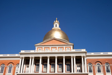 Massachusetts State Capitol House in Boston