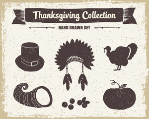 Thanksgiving day set.
