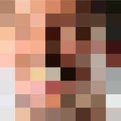 censored blur background