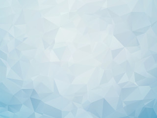 modern soft blue low poly background