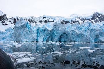 Glacier at Antarctic Peninsula