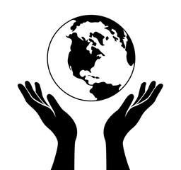 hand hold world