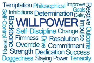 Willpower Word Cloud