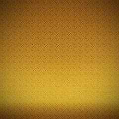 Brass diamond plate background