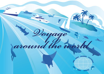 Around the world voyage