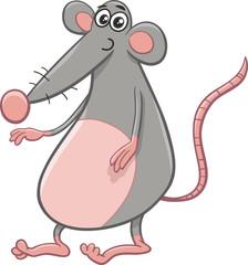 rat or mouse cartoon animal