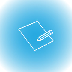 Pensil vector icon